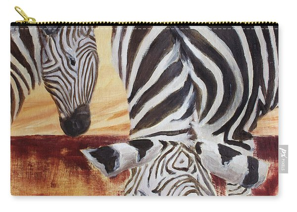 Momma And Baby Carry-all Pouch