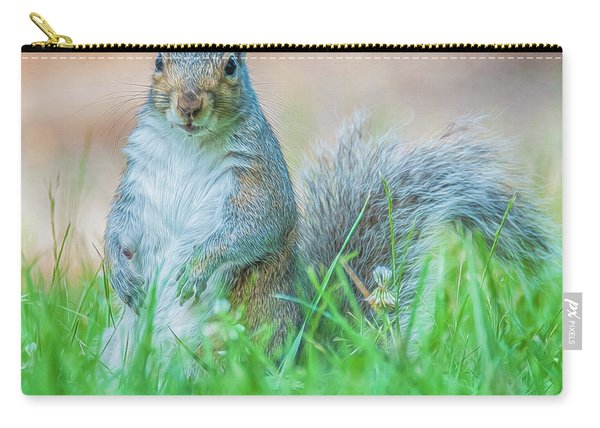 Momma Squirrel Carry-all Pouch