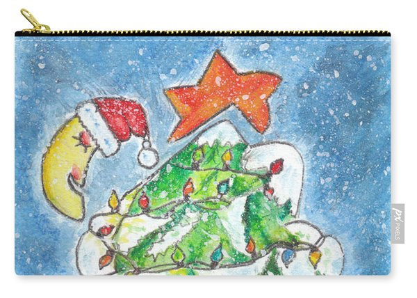 Mon Beau Sapin Carry-all Pouch