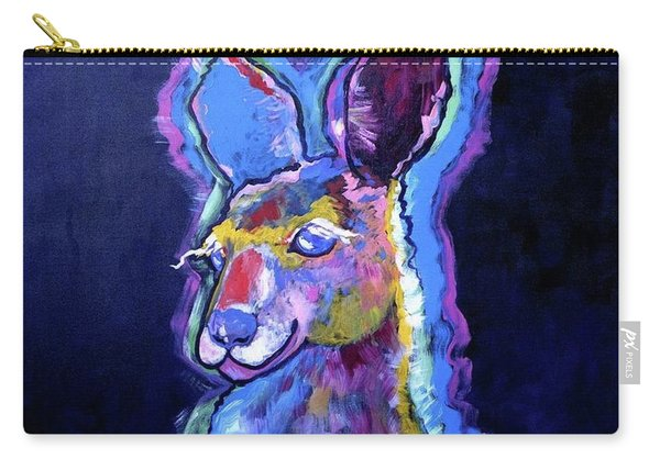 Mona Lisa 'roo Carry-all Pouch