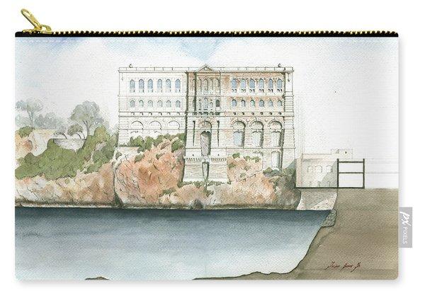 Monaco Oceanographic Museum Carry-all Pouch