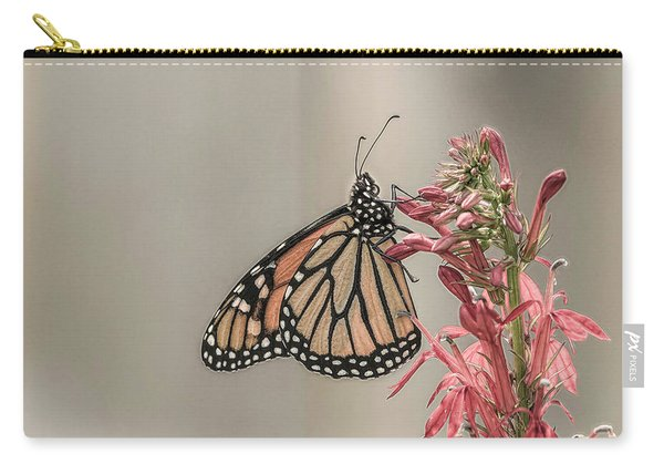 Monarch And Cardinal Flower 2016-2 Carry-all Pouch