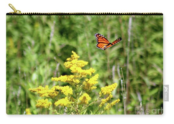 Monarch And Goldenrod Carry-all Pouch