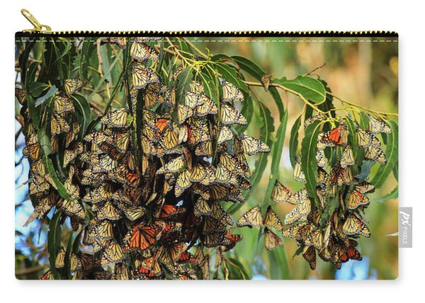 Monarch Butterlies Migration II Carry-all Pouch