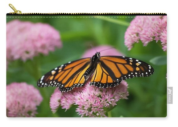 Monarch On Sedum Carry-all Pouch