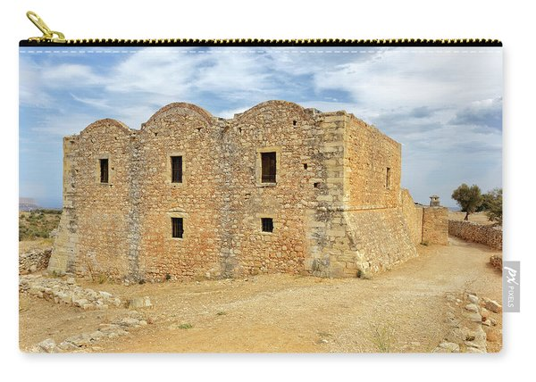 Monastery At Aptera In Crete Carry-all Pouch