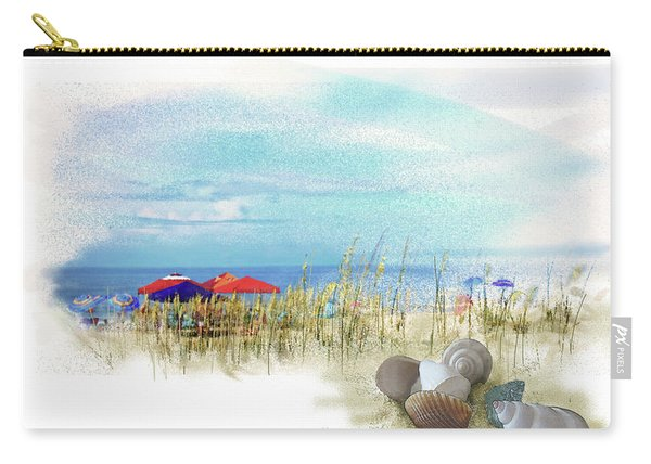 Carry-all Pouch featuring the digital art Monday Afternoon by Gina Harrison