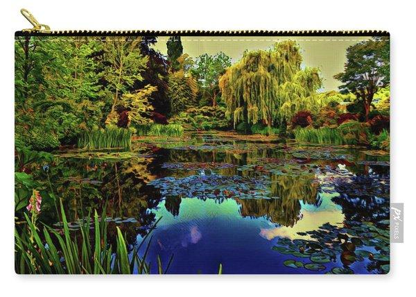 Monet's Flower Garden - Water Lilies Carry-all Pouch