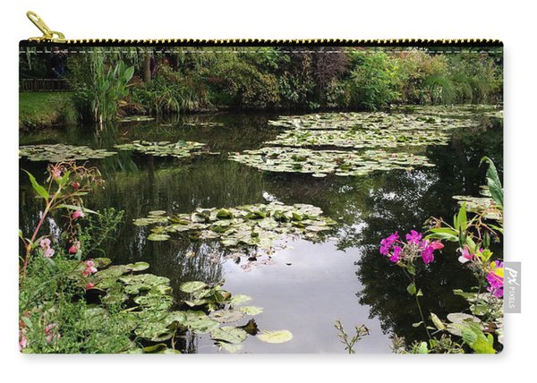 Monets Garden, Giverny, France Carry-all Pouch