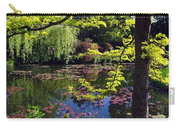 Monet's Pond Carry-all Pouch