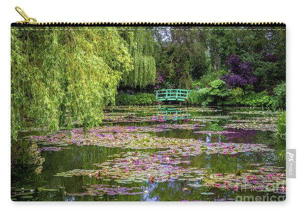 Monet's Waterlily Pond, Giverny, France Carry-all Pouch