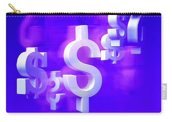 Money Problems Carry-all Pouch