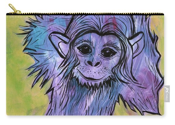 Monkey Mischief Carry-all Pouch