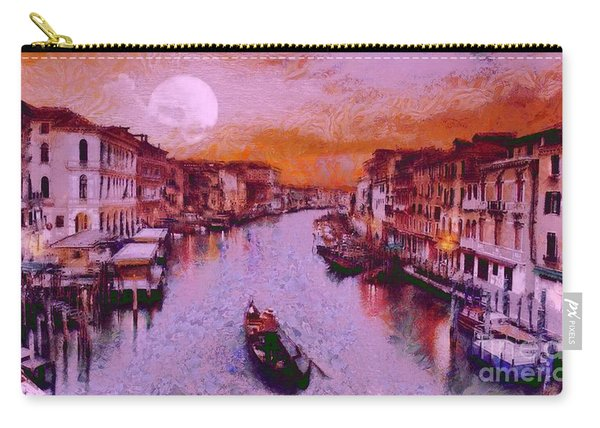 Monkey Painted Italy Again Carry-all Pouch