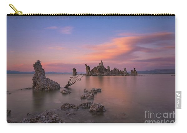 Mono Lake Long Exposure Sunset  Carry-all Pouch