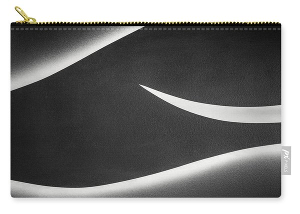 Monochrome Abstract Carry-all Pouch