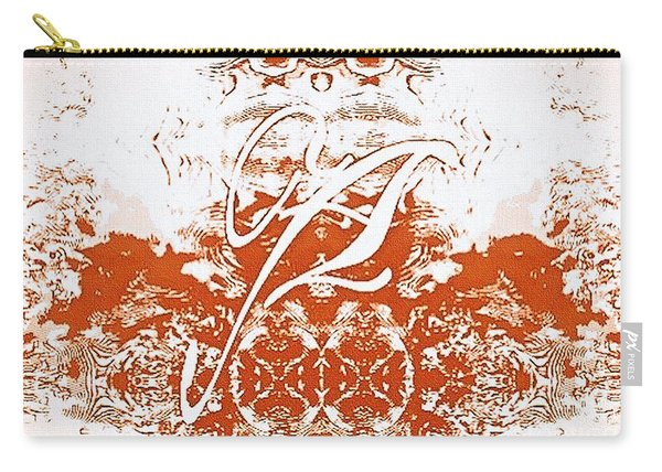 Monogram A - 0 - 12  Carry-all Pouch