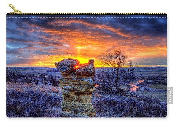 Monolithic Sunrise Carry-all Pouch