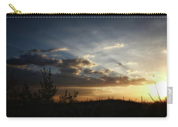 Monsoon Sunset 2016 Carry-all Pouch