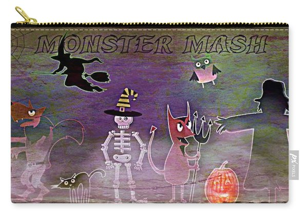 Monster Mash - Grunge Carry-all Pouch