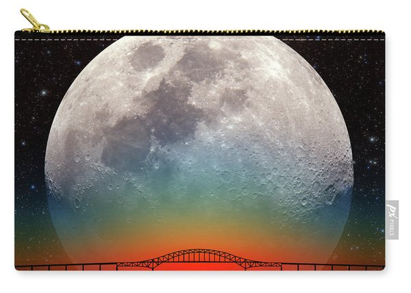 Monster Moonrise Carry-all Pouch