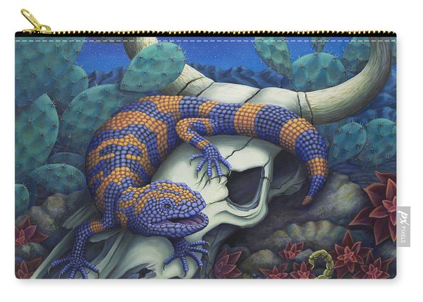 Monsters In The Night Carry-all Pouch
