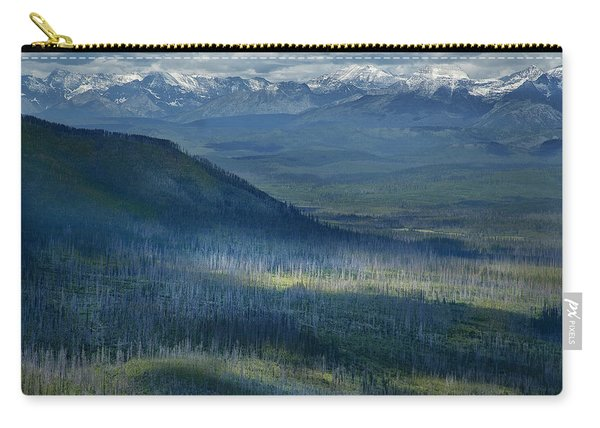 Montana Mountain Vista #3 Carry-all Pouch