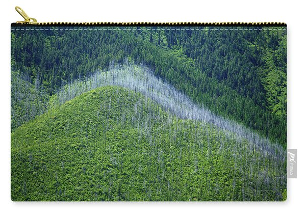 Montana Mountain Vista #4 Carry-all Pouch