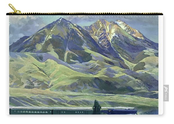 Montana, Railway, Mountains Carry-all Pouch