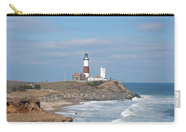 Montauk Lighthouse View From Camp Hero Carry-all Pouch