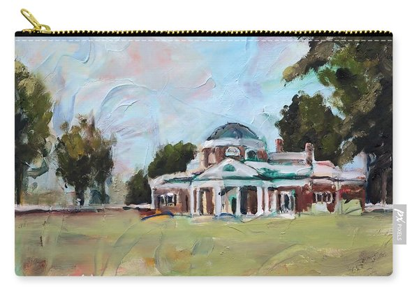 Monticello Charlottesville Virginia Carry-all Pouch