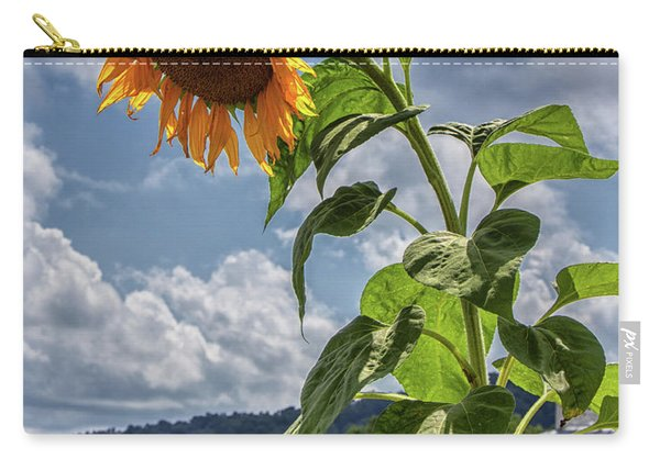 Monticello Sunflower Carry-all Pouch