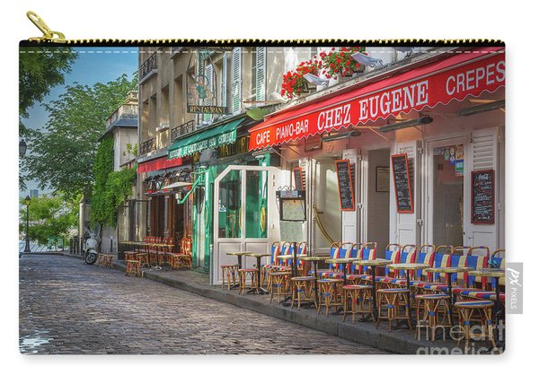 Montmartre Cafe Carry-all Pouch