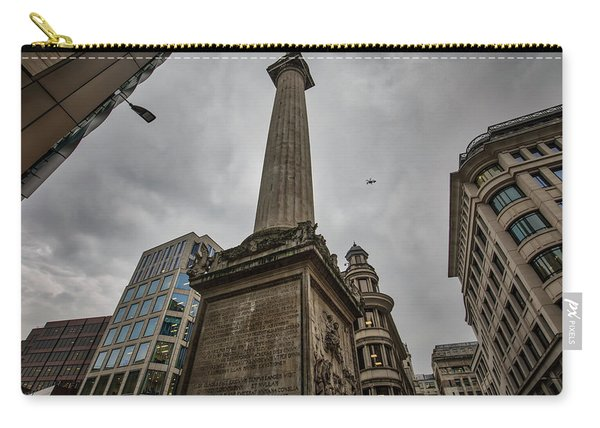 Monument To The Great Fire Of London Carry-all Pouch