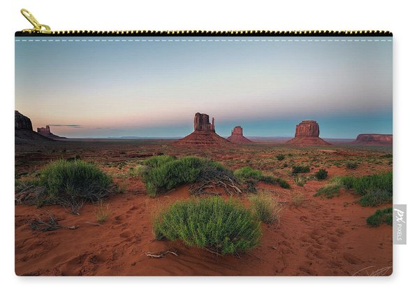 Monument Valley Carry-all Pouch