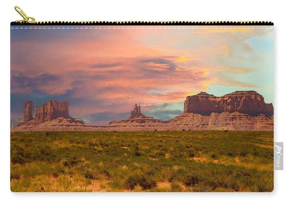 Monument Valley Landscape Vista Carry-all Pouch