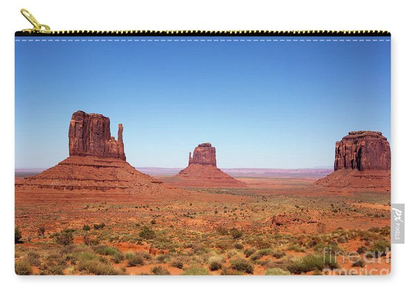 Monument Valley Utah The Mittens Carry-all Pouch