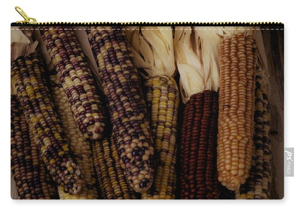 Moody Indian Corn Carry-all Pouch