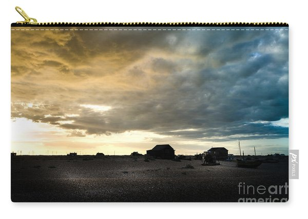 Moody Sky, Dungeness Beach  Carry-all Pouch