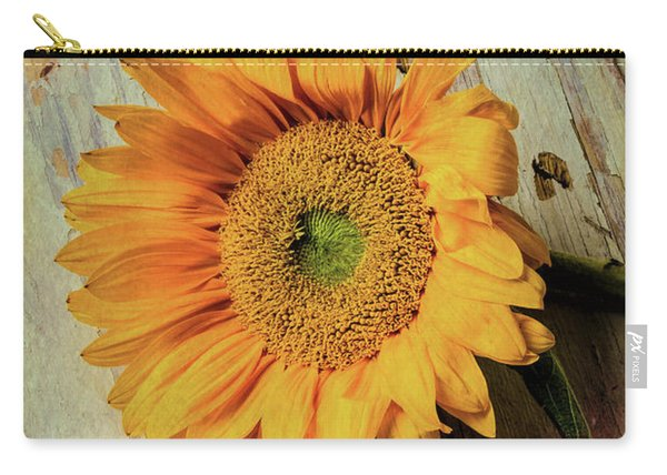 Moody Sunflower With Keys Carry-all Pouch