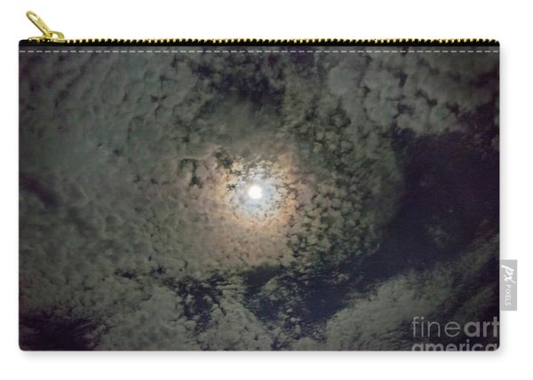 Moon And Clouds Carry-all Pouch
