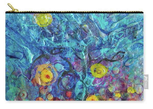 Moon Flowers Carry-all Pouch