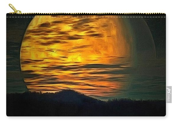 Moon In Ambiance Carry-all Pouch