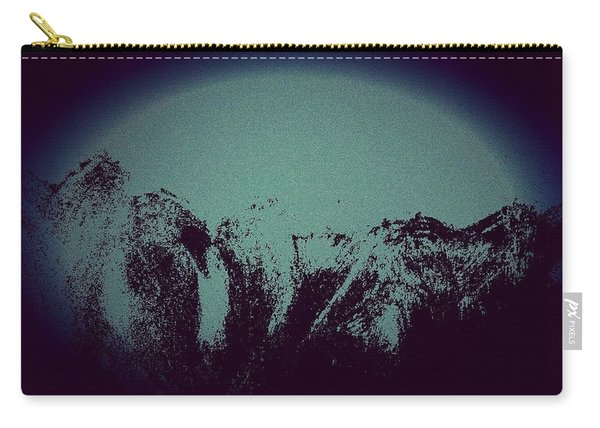 Moon In The Mountains Carry-all Pouch