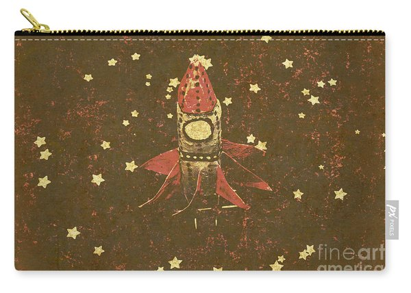 Moon Landings And Childhood Memories Carry-all Pouch