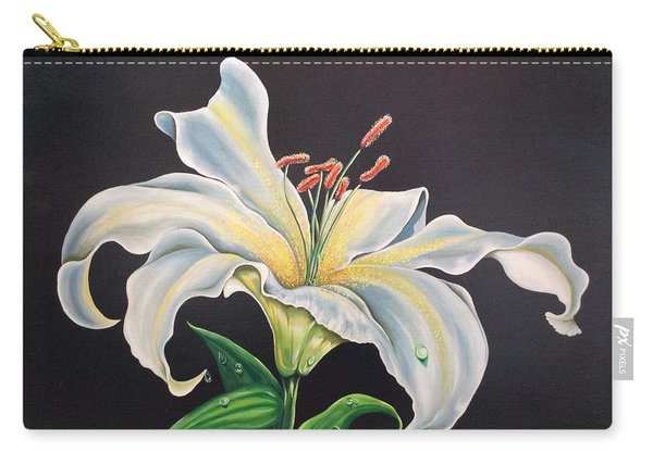 Moon Light Lilly Carry-all Pouch
