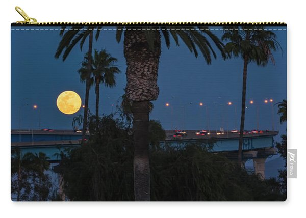 Moon On The Rise Carry-all Pouch