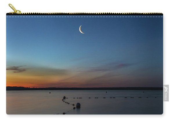 Moon Over Cayuga Carry-all Pouch