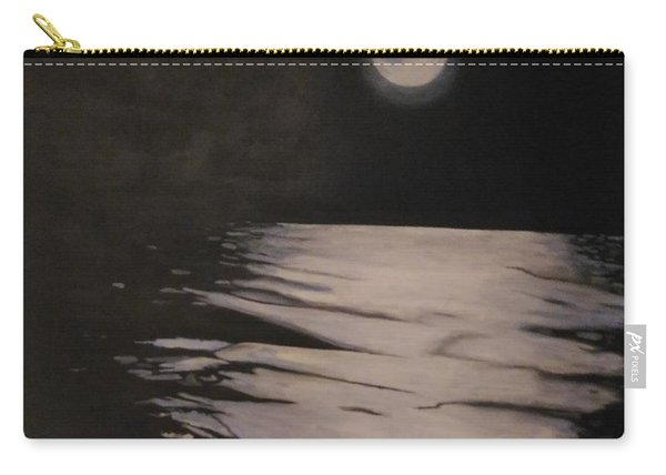 Moon Over The Wedge Carry-all Pouch