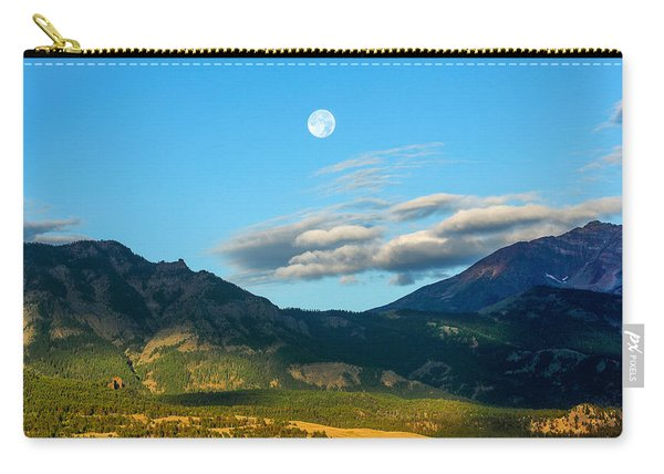 Moon Over Electric Mountain Carry-all Pouch